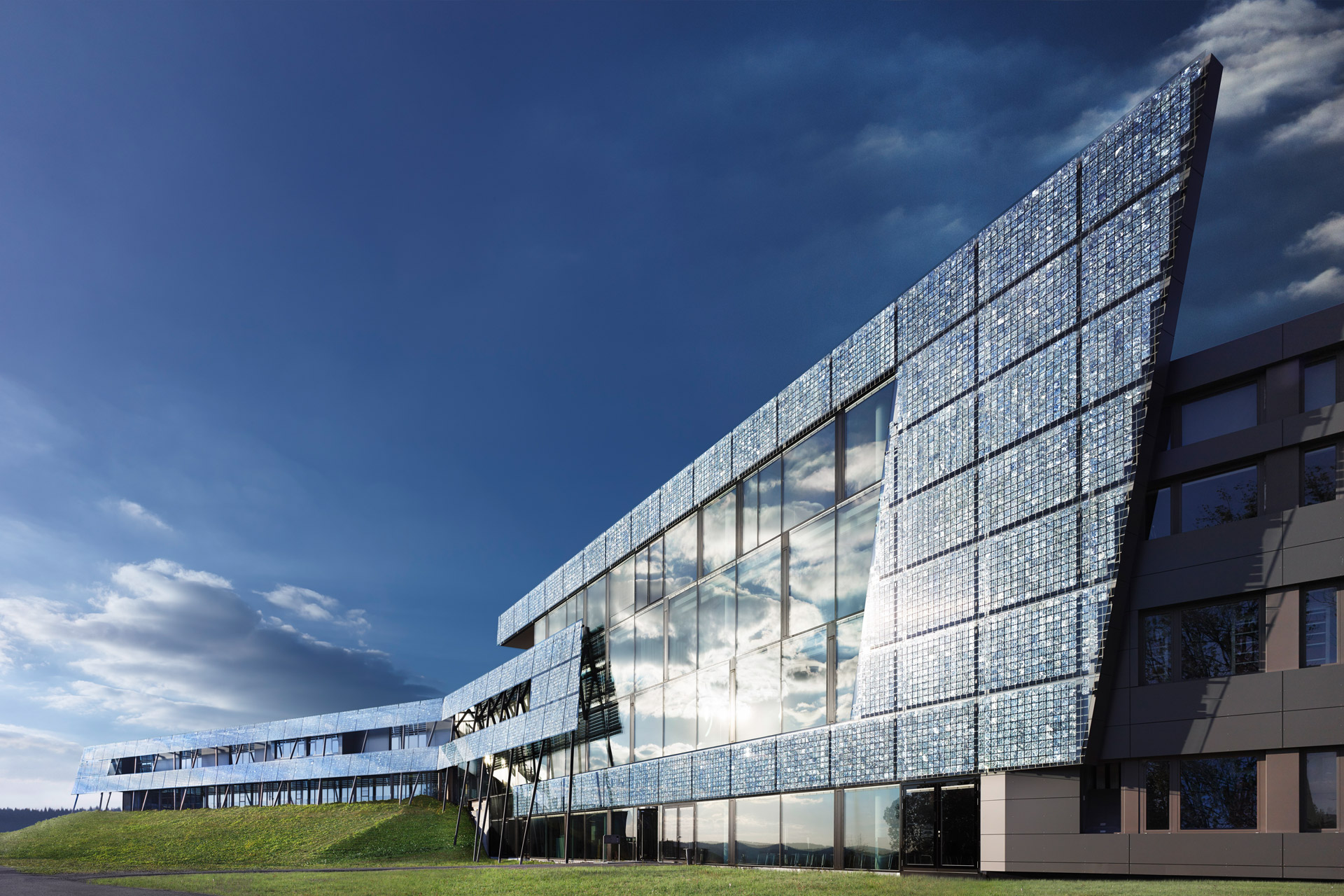 RENA Technology's high-tech headquarters overlooking the Black Forest.